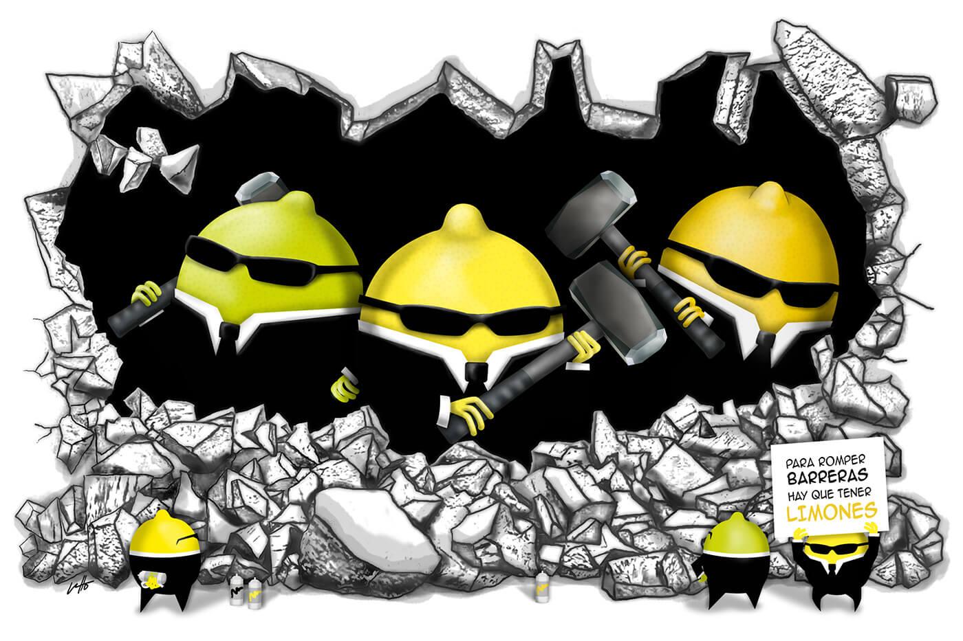Amarillo Limon rompe barreras