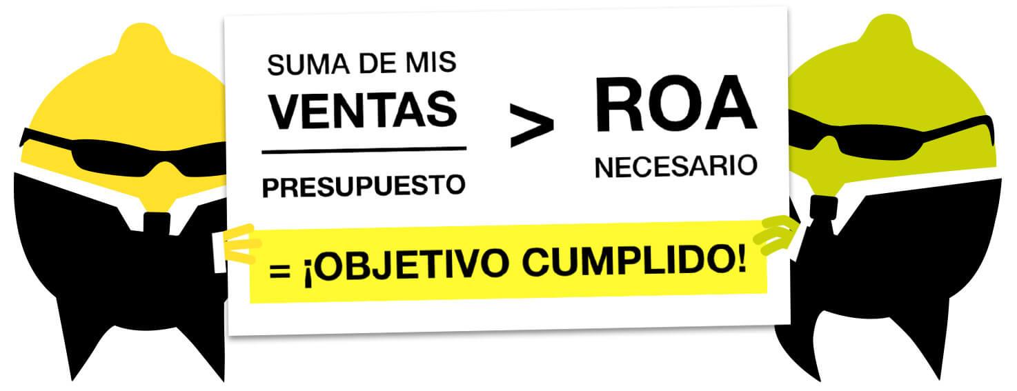 Calcular ROA en Campañas SEM